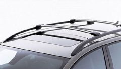 Genuine Volvo V50 (04-) Load Carrier / Roof Bars (Wing Profile for Rails)